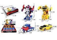 COCHES ROBOT TRANSFORMERS METAL EXP.8