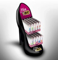 EXPOSITOR MISS BIC ZAPATO