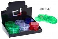 GRINDER PLASTICO 4 PARTES