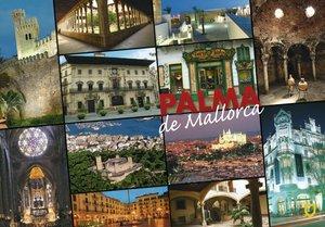 POSTAL EORO 10X15 3017 PALMA DE MALLORCA