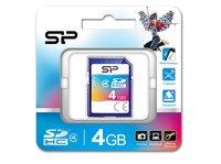 SDHC MICRO SILICON POWER 4 GB CLASE 4