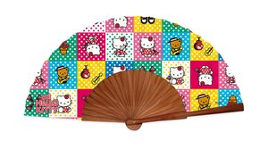 ABANICO MADERA HELLO KITTY 1010000HK1