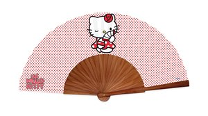 ABANICO MADERA HELLO KITTY 1010000HK2