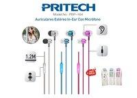 AURICULARES IN-EAR CON MICROFONO PBP-164
