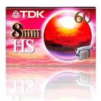 CINTA VIDEOCAMARA TDK 8mm 60 HS