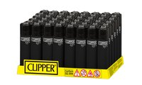 CLIPPER LARGE SOFT TOUCH ALL BLACK
