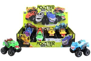 COCHES MONSTERS FRICCION EXP.8