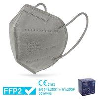 MASCARILLA AUTOFILTRANTE FFP2 CN GRIS