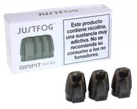 BOQUILLAS MINI FIT JUSTFOG 3 UNID.