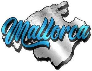 PEGATINAS METALIZADAS MALLORCA ISLA