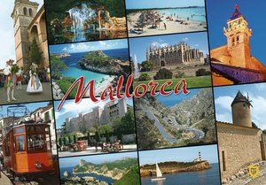 POSTAL EORO 10X15 3008 GENERAL MALLORCA