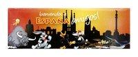 IMAN PLACA WARNER SPAIN BIENVENIDOS
